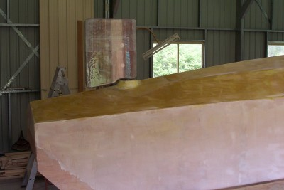 rudder in situ